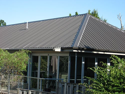 Corrugated Iron Roof