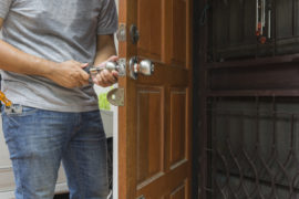 locksmith home security services